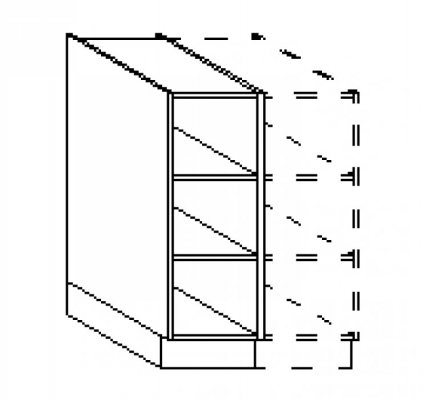 Open Kast Regaal Producten Van Keukenkastenfabriek